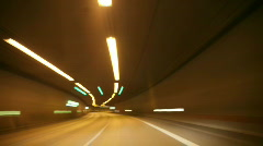 Timelapse Drive through Berlin 6 Stock Footage