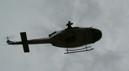 Special Operator inserts from Helicopter (HD) c Stock Footage