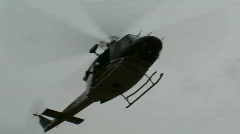 Helicopter Insertion (HD) c - stock footage