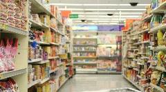 Handicap Shopper Stock Footage