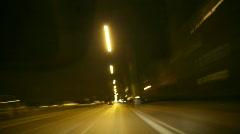 Timelapse Drive through Berlin 4 - stock footage