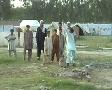 Refugee Children Playing Cricket in UNHCR camp, Pakistan Footage