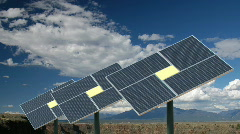 Solar Panels Rio Grande HD1920 Stock Footage