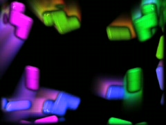 Colored Pills Bouncing Stock Footage