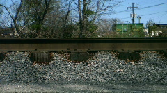 train rolling - stock footage