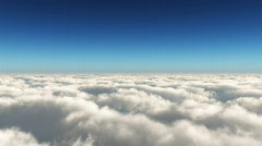 CloudFly Day LowA - stock footage