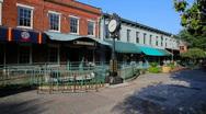 City Market, Savannah Georgia Stock Footage