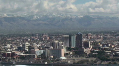 Tucson Skyline Time Lapse 2 Stock Footage