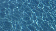 Swimming pool reflections Stock Footage