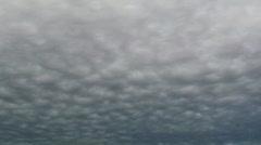 Cloud Swarm Time Lapse Stock Footage