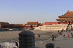 Forbidden City- pan - stock footage