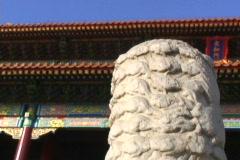 Forbidden City- rack focus Stock Footage