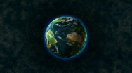 HD 1080 - Planet Earth rotates Stock Footage