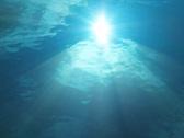 Underwater Sunlight HS 07 Loop Slow Motion x7 Stock Footage