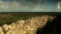 Time Lapse of an Irish Fence Stock Footage