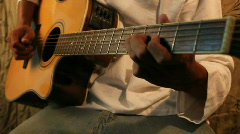Guitar Blues Stock Footage
