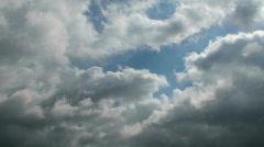 Cloud Melt Time Lapse - stock footage