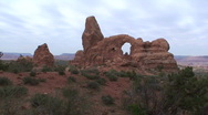 Stock Video Footage of Turret Arch 6