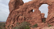 Turret Arch 7 Stock Footage