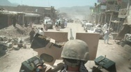 Stock Video Footage of Special Forces Soldier on Patrol in Afghanistan
