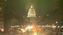 US Capitol Timelapse HD - stock footage