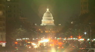 Stock Video Footage of US Capitol Timelapse HD