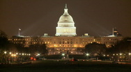 US Capitol Timelapse HD Stock Footage