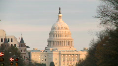US Capitol Building - stock footage