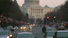 United States Capitol Building Stock Footage