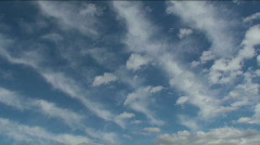 Cloud Dimensions Time Lapse Stock Footage