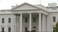 Stock Video Footage of White House HD