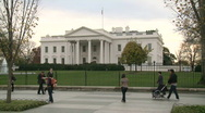 Stock Video Footage of White House in Washington DC