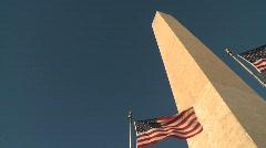 WashingtonMonument - stock footage