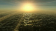 Stock Video Footage of Ocean Sunset Loopable HD1080