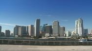 Stock Video Footage of Skyline of Miami