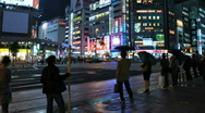 Stock Video Footage of Tokyo Street Time Lapse 1