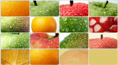Food background 9 Stock Footage