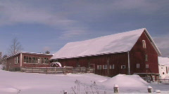 Red Barn - stock footage