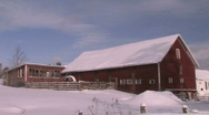 Stock Video Footage of Red Barn