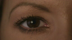 HD720p50 Young sexy woman eye (Close Up) Stock Footage