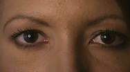 HD720p50 Young sexy woman eyes (Close Up) Stock Footage