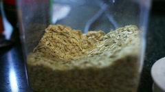 T160 oats oat food Stock Footage