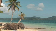 Tropical island Stock Footage