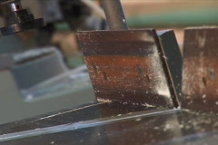 Power disc tool cutting metal. Stock Footage