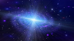 Deep Space Galaxy Slow Version Stock Footage