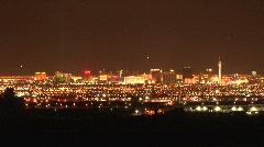 Las Vegas skyline 2 Stock Footage