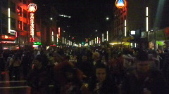 Crowded Vancouver Streets 1 Stock Footage