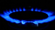 Blue natural gas Stock Footage