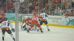 Olympic Hockey Game Series 1 Stock Footage