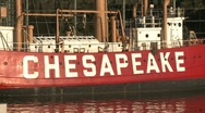 Chesapeake boat Stock Footage